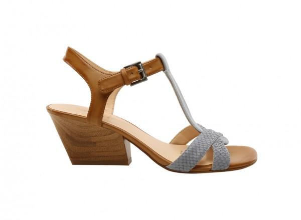 Geralda Blue High Heels