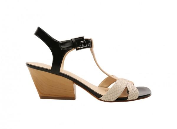 Geralda White High Heels