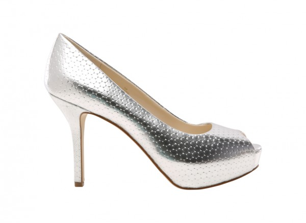 Qtpie Silver Pumps