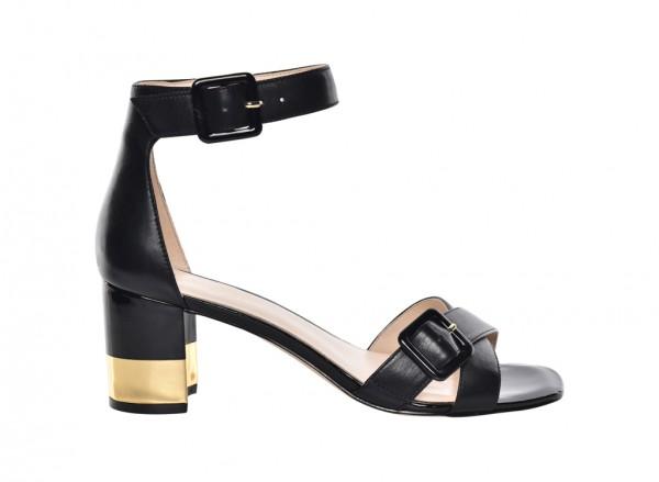 Nwtrax Black Mid Heel
