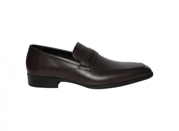حذاء سهل اللبس بني