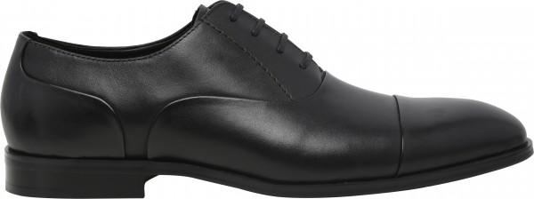 حذاء طويل الرباط أسود