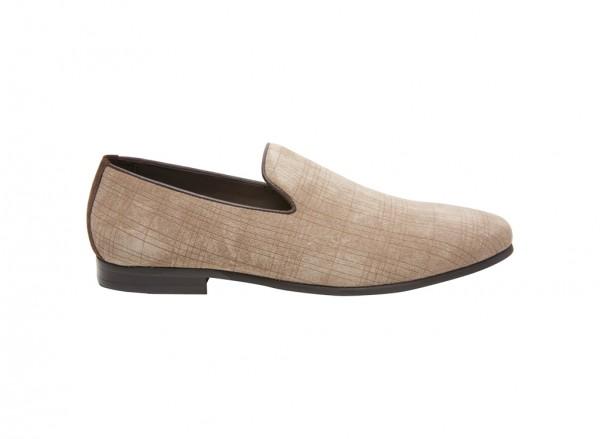 حذاء سهل اللبس رمادي داكن