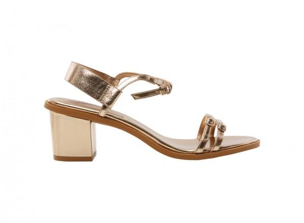Gold Mid Heel-PW1-25480161