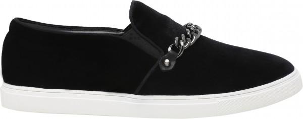 حذاء بلون أسود