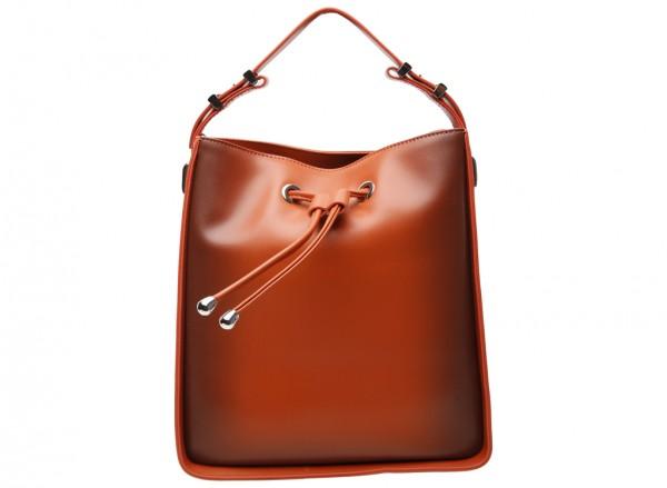 Cognac Shoulder Bags & Tote-PW2-16100001-1