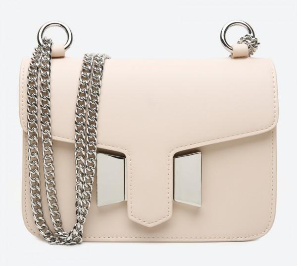 حقيبة صغيرة بلون بيج