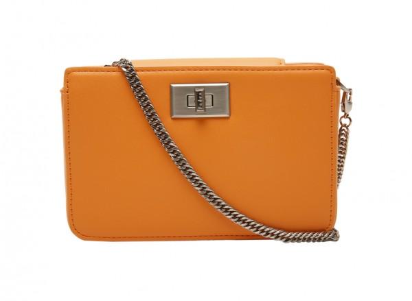 حقيبة بلون برتقالي