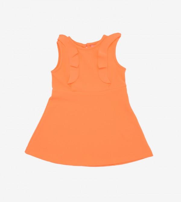 فستان من البوليستر للبنات
