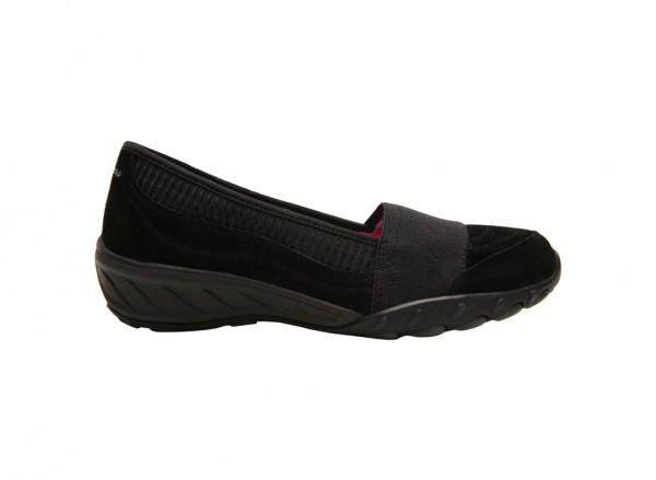 حذاء لون أسود