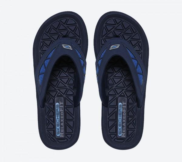 Skechers BENNY SHURS Mens Navy//Blue 51463//NVBL Thong Sandals