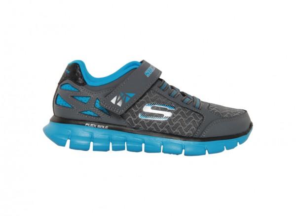 حذاء سنرجي لون رصاصي وأزرق
