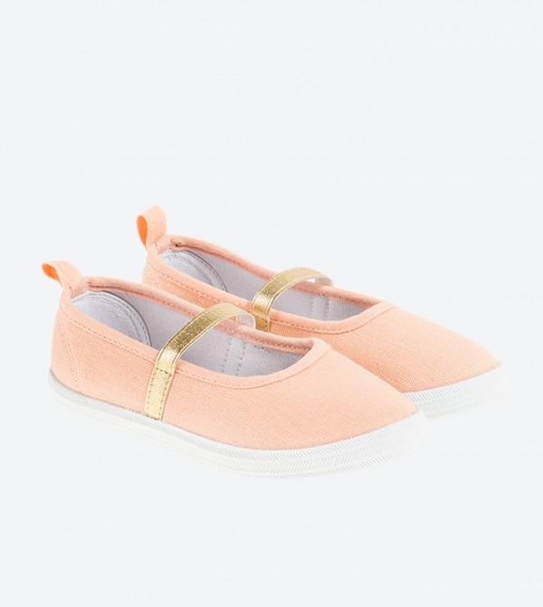 حذاء باليرينا ماري جين بلون وردي