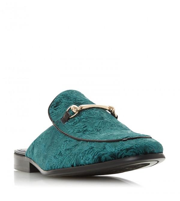 SUGARR - Velvet Snaffle Loafer