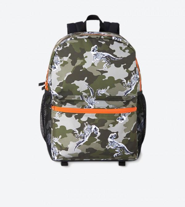 حقيبة ظهر بألوان متعددة