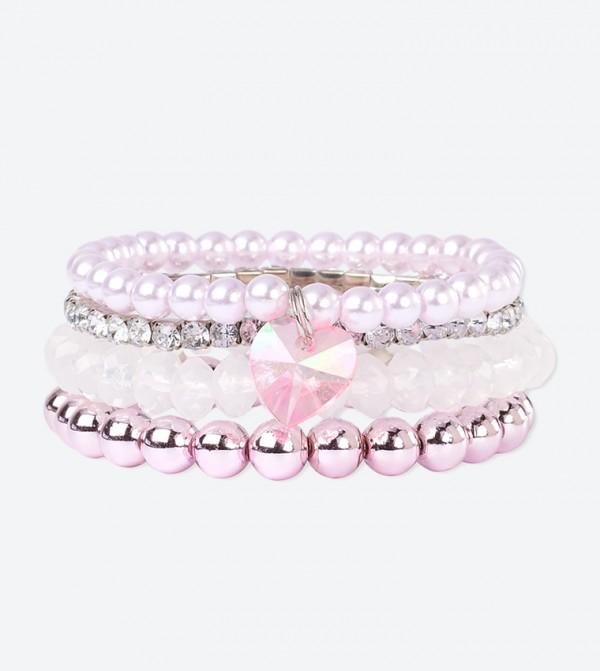 Rose Beaded Bracelets - Multi