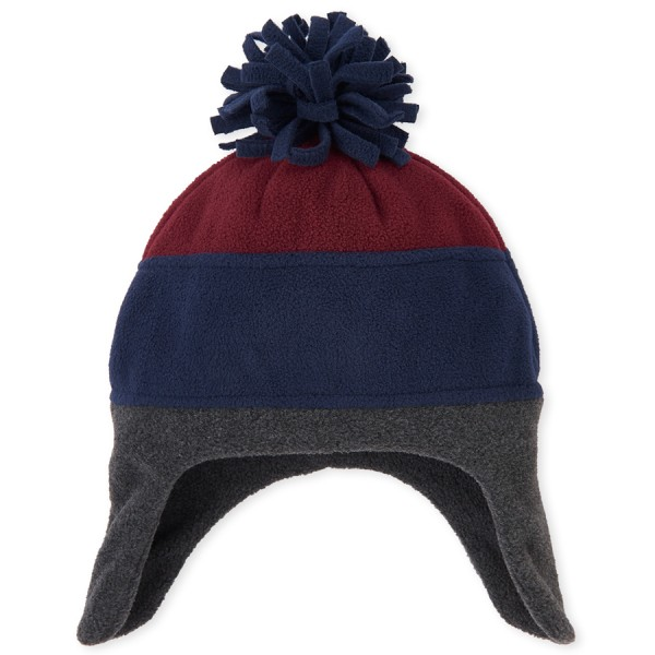 Bb Mf Clr Block Hat - Red
