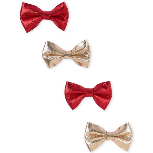 Tg 4Pk Bow Clps - Red