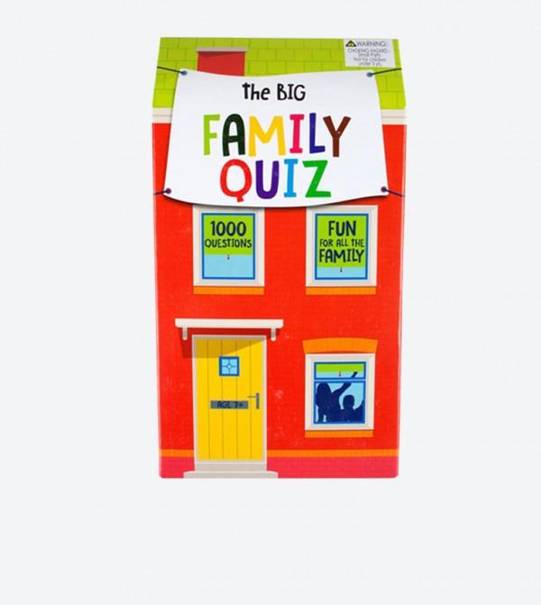 لعبة تريفيا للعائلة متعددة الالوان