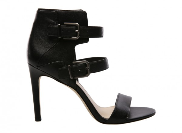 V-Evangeline Black High Heel