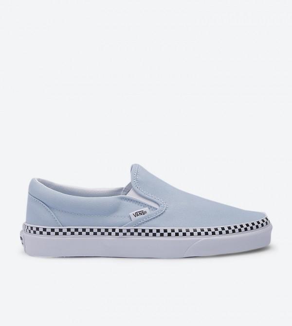 Ua Classic Round Toe Slip-Ons - Blue