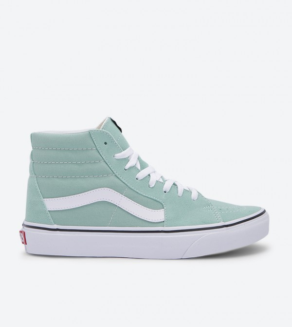 Ua Sk8-Hi Lace Up Closure Sneakers - Green VA8GEVMX