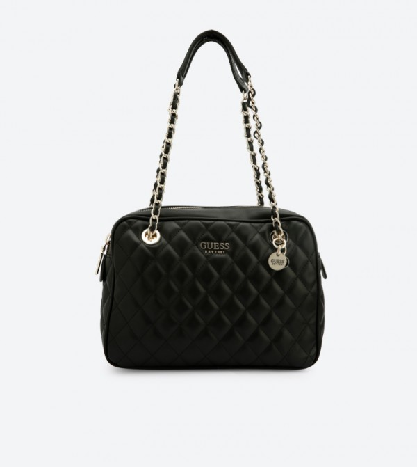 find lowest price discount new & pre-owned designer Sweet Candy Quilted Shoulder Bag - Black VG717520