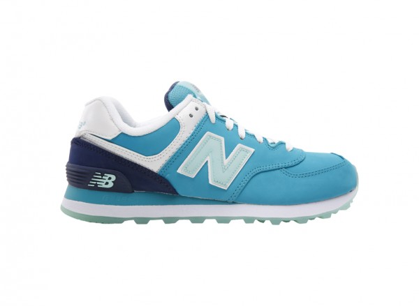 574 Blue Sneakers And Athletics-WL574SLY