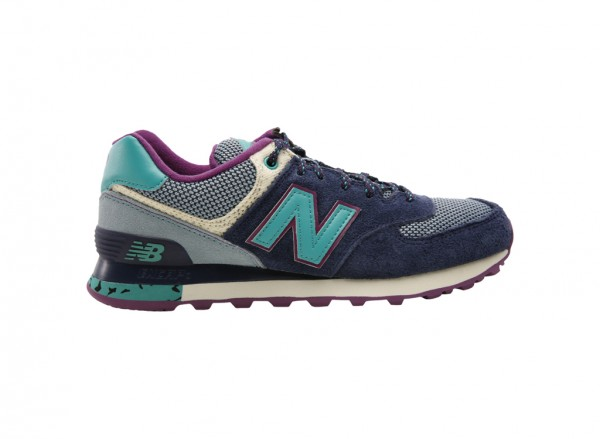 574 Purple Sneakers And Athletics-WL574TSY