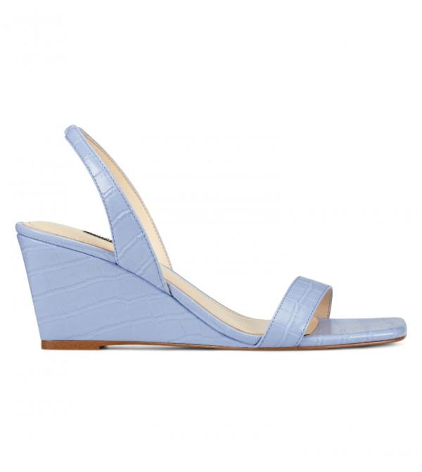 Wnkalia3 Sling Back Sandal-Blue