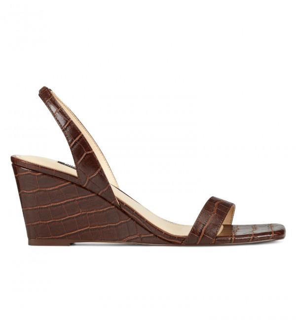 Wnkalia3 Sling Back Sandal-Brown