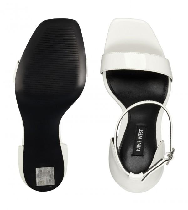 Wnzariah3 Ankle Strap-White