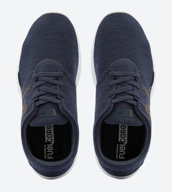 super słodki wylot Nowa lista Logo Details Lace-Up Sneakers - Navy