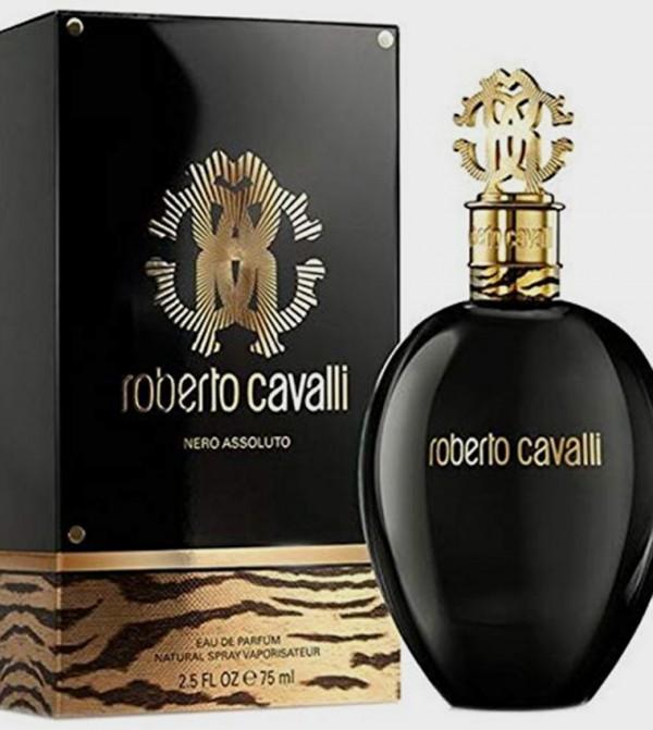 Roberto Cavalli Nero Assoluto For Women Edp 75ML - White