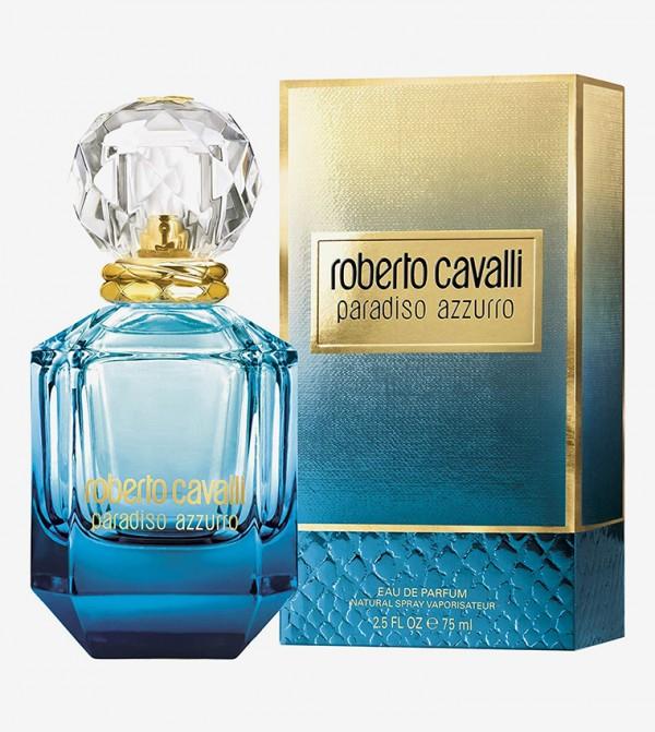 Roberto Cavalli Paradiso Azzurro For Women Edp 75ML - White