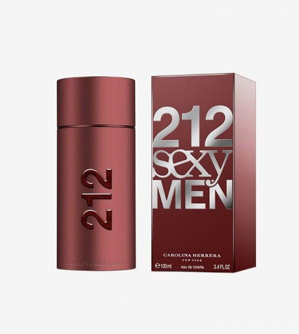 Carolina Herrera 212 Sexy For Men Edt 100ML - White