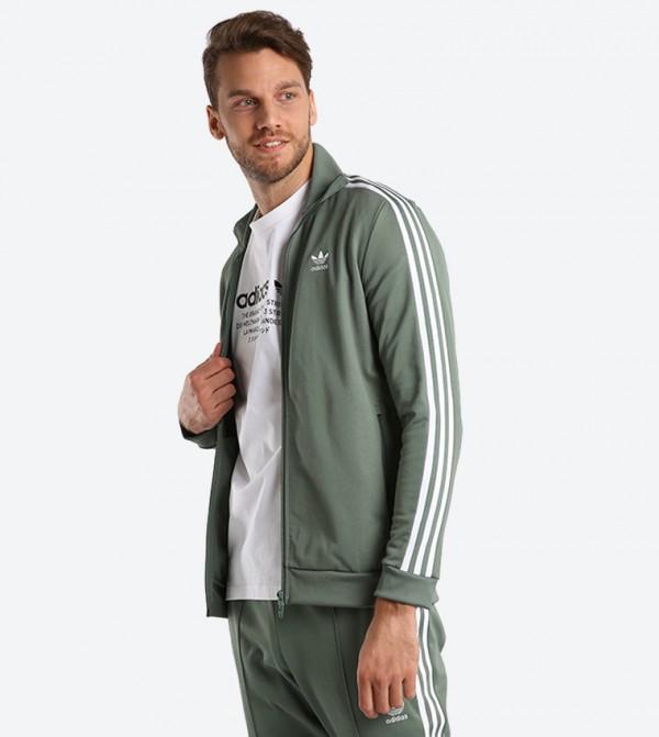 Poner celestial si  Beckenbauer Track Jacket - Green DH5820