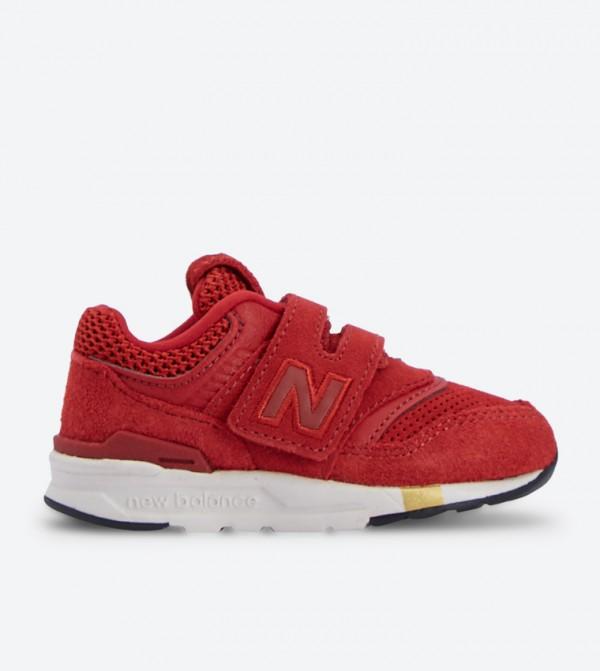 حذاء 997 بلون أحمر داكن