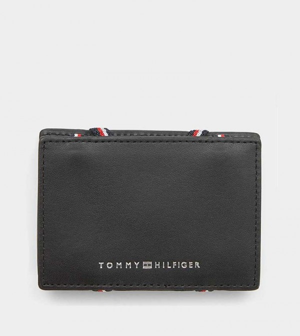 TOMMY HILFIGER Corp Webbing CC Holder Black
