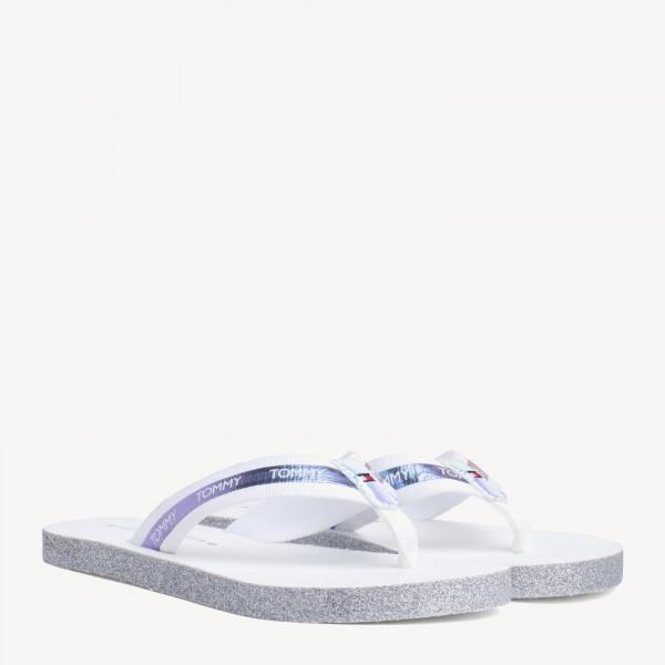 Tommy Hilfiger Flat Beach Sandal Iridescent