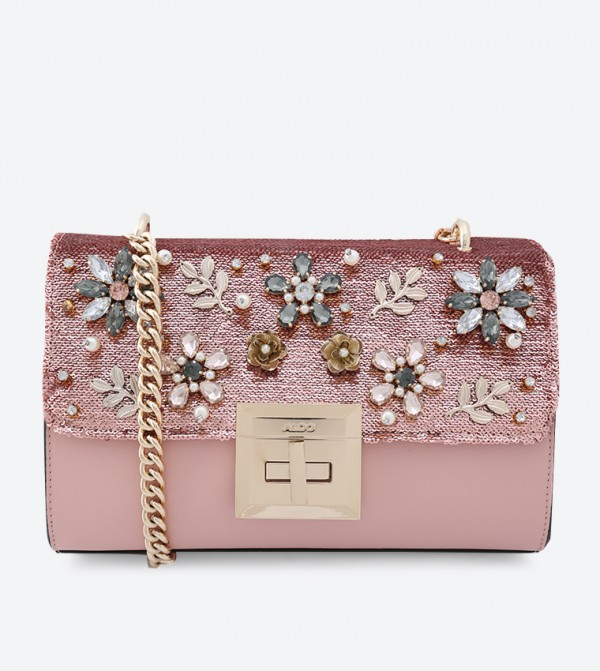 8ff6a29e50a Derosia Cross Body Bag - Pink