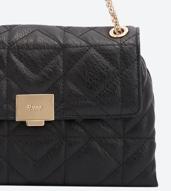 Evangelina Quilted Shoulder bags - Black 0009500110246038 86760870eb95a
