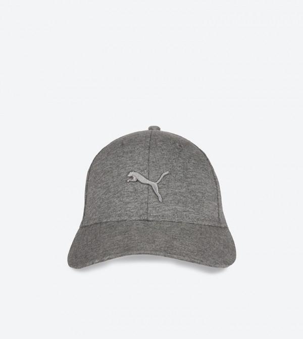 Puma Stretch Fit Baseball Cap - Grey 02156103 d35ecfec1cd