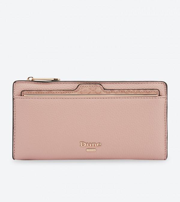 1ba7487e1bf Dune London Kanty Slim Line Purse - Light Pink