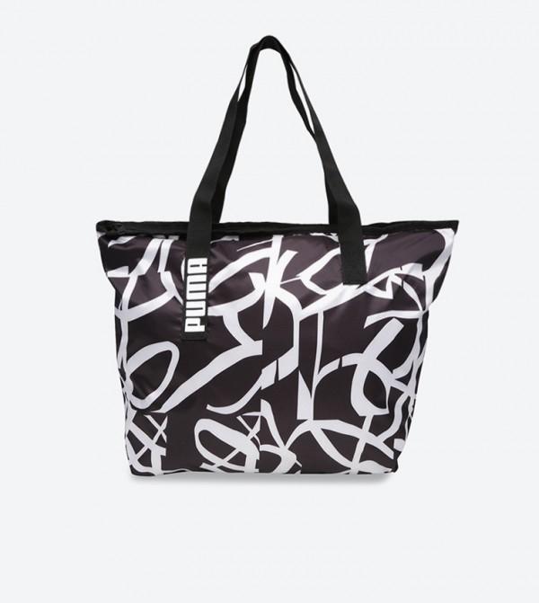 089bbb88341a7 Puma Core Active Shopper Bag - Black 07514104