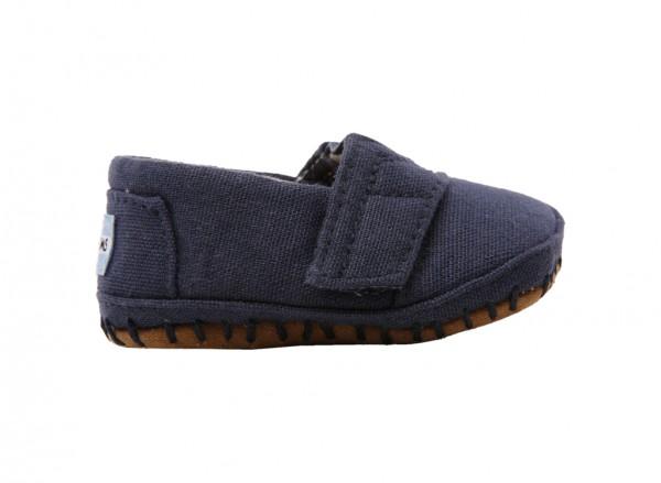 Crib Alpargata Navy Sandals