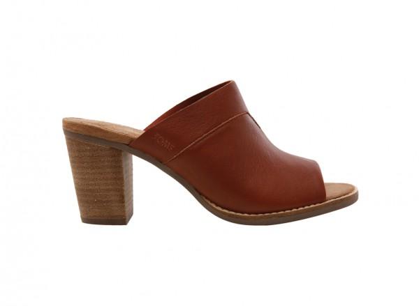 Majorca Cognac Mid Heel