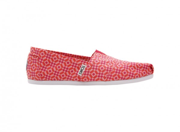 Red And Pink Flats