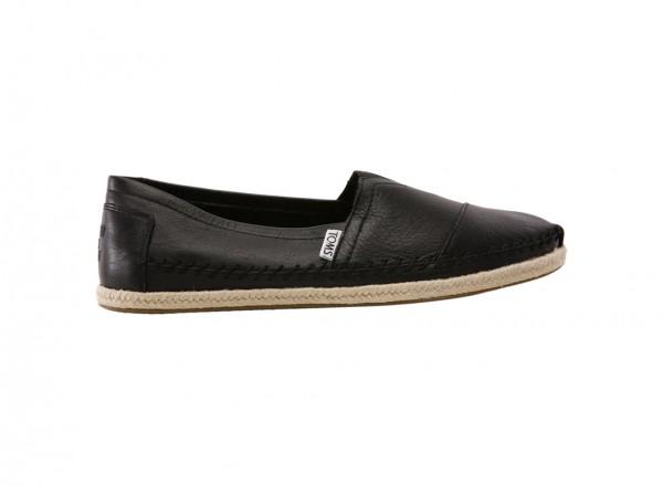 Classic Black Slip-Ons -10008348
