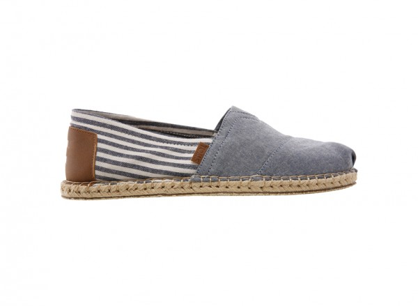 Classic Chambray Slip-Ons